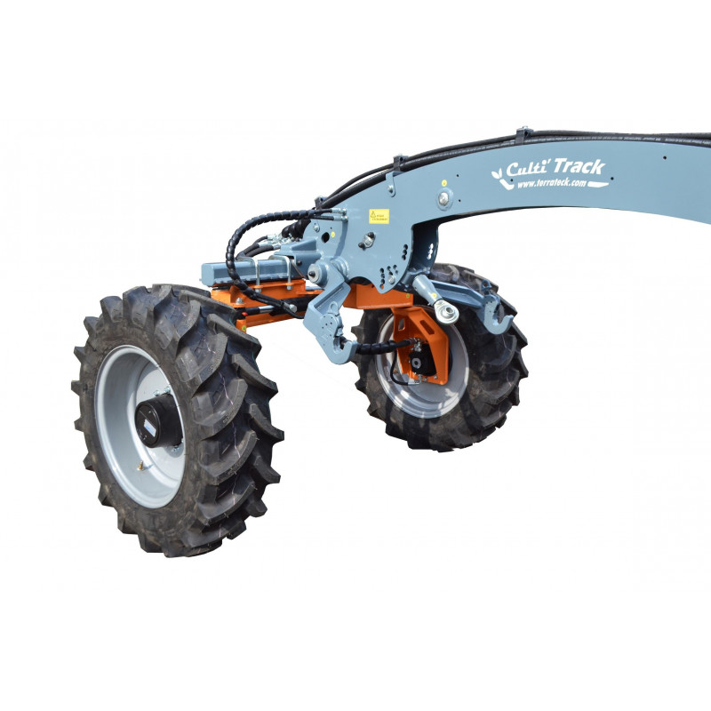 montage 4 roues motrices pour porte outils