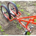 Double wheel hoe