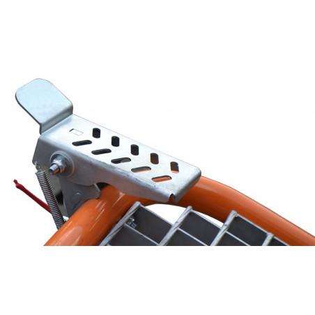 accélérateur au pieds porte outils terrateck