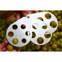 Grape/vegetable measuring tool 10 to 32mm