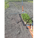 Distance row marker for Paperpot transplanter