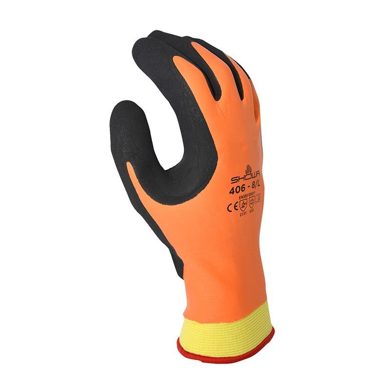 Waterproof winter work gloves