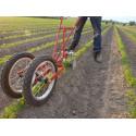 Single wheel hoe