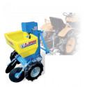 1-row potato planter - Micro-tractor