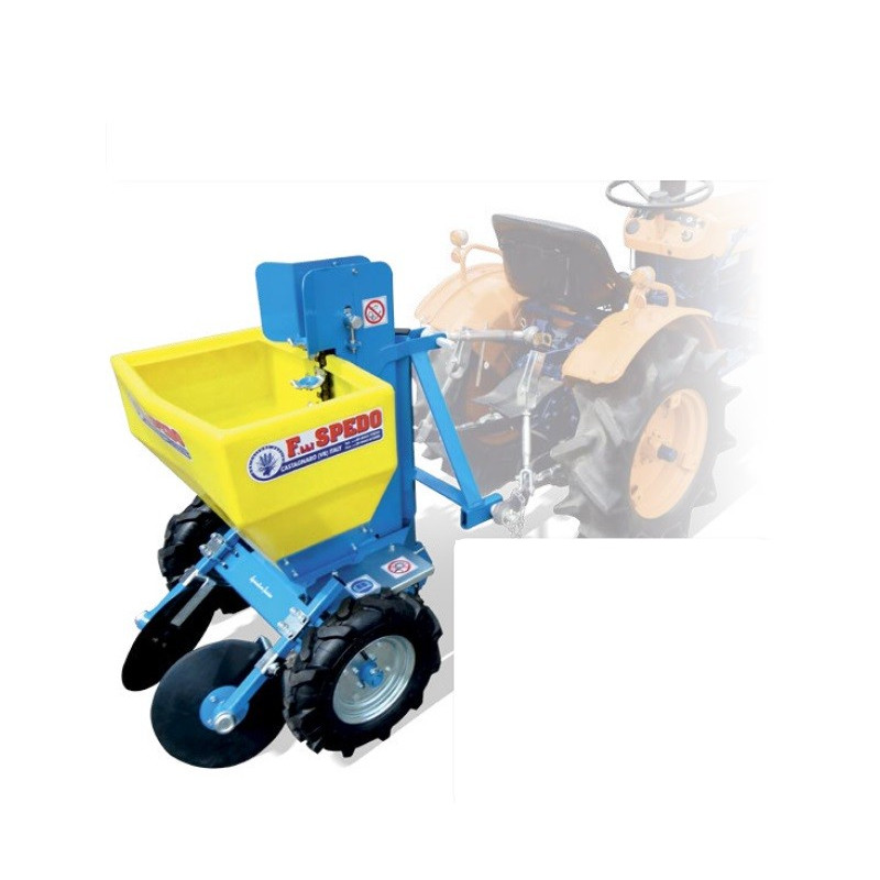 Planteuse pommes de terre 1 rang - Micro-tracteur