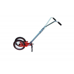 Two-wheel gardening hoe